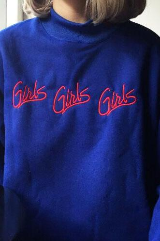 Blue GIRLS SWEATER