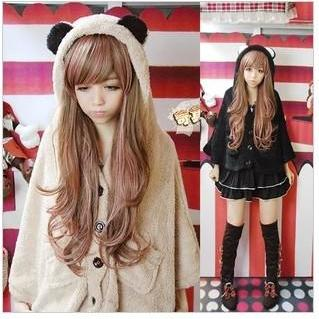 New Fall Winter 2013/14 Cute Bear Fluffy Fleece Velvet Jacket Coat
