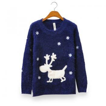 Spring Fall Winter 2014 Deer Sweater Pullover