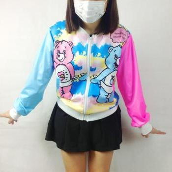 Spring Fall 2014 Harajuku Cutie Bears Jacket