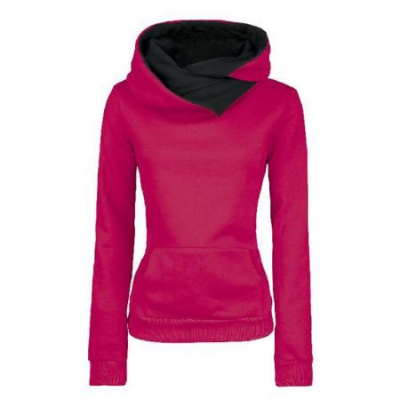 Girls Hoodie New Trends Long Sleeves High Neck Hoodies