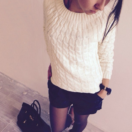 Hot sale Retro Knitted Sweaters for women