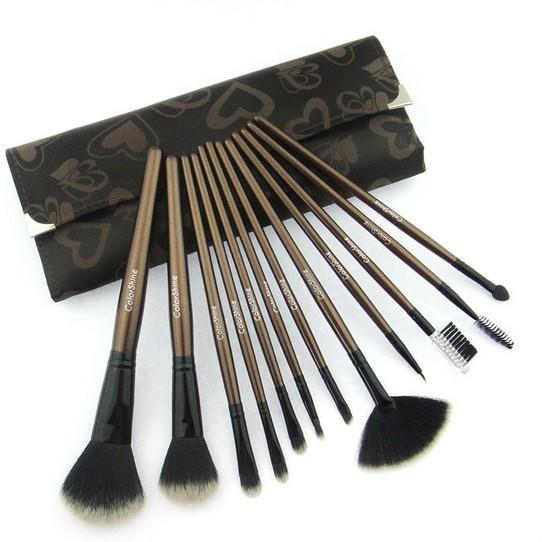 Top Quality Colorshine High Quality 12 Pcs Makeup Brushes Cosmetic Brush Set Professional Makeup Brush S3E3Q1103R1HYAS87KT6Z YWOAJ4P0Z66