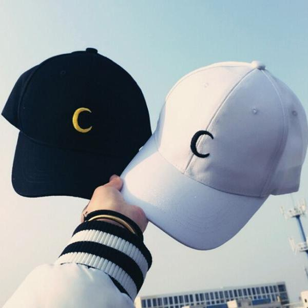 2016 New women fashion Sailor Moon Embroidery Hat Cap