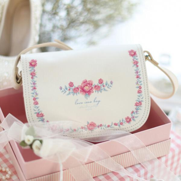 2016 NEW style women cute Vintage Floral Cross-body Bag shoulder bag