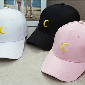 Sailor Moon embroidered baseball cap hat